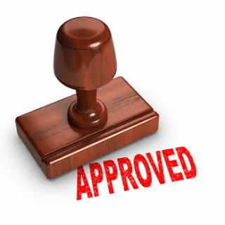 stamp of approval icon